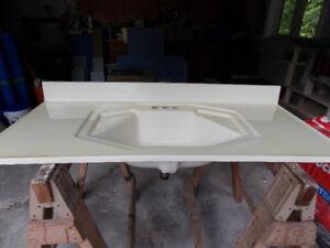 Combination Vanity top-sink