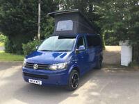 64 Reg Volkswagen TRANSPORTER T28 High Line TDI Blue Motion Camper Van