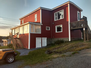 Well kept Duplex and large lot for sale.