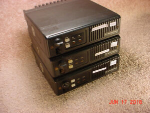 For Sale: Lot of  3 Maxtrac 100 VHF 146-174 MHz 2 Channel Radios