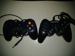 2 pc game pad controllers