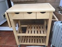 Kitchen chopping block / storage