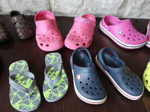 Selling 8 Pairs Boy/Girls Youth Shoe's, Boots & Sandals Kitchener / Waterloo Kitchener Area image 3
