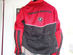 Women's Med. Honda Racing jacket    recycledgear.ca Kawartha Lakes Peterborough Area image 4
