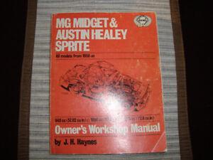 MG Midget AH Sprite manual