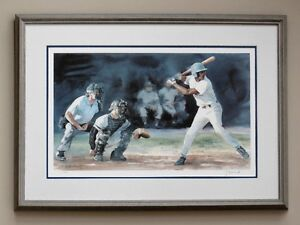 """BOYS OF SUMMER"" Lithograph  by Greg Zelinski   No. 1 of 250"