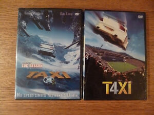 TAXI 3 & TAXI 4 DVDs (new)
