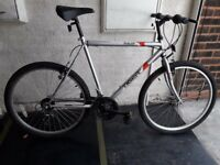 Rally Tiger Mountain Bike. 21 speed. 26 inch wheels (Suit: 16 yrs to Adult).