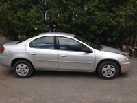 2004 Dodge SX 2.0 Sedan etested low Km