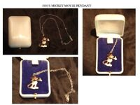 Early 1930's MICKEY MOUSE PENDANT