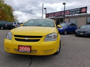 2009 Chevrolet Cobalt 2dr Cpe LT ,  5SPD Manual FUN TO DRIVE SPO