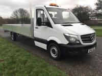 Mercedes Sprinter 313Cdi XLWB 3.5T GVW **EXTRA LONG** 20ft (6m) Dropside