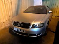 Audi A4 Cabriolet 1.8T 2004 quattro Petrol Manual Leather Seats ROOF NOT WORKING