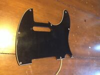 Fender Telecaster pickguard, copper-shielded & grounded (8-hole)
