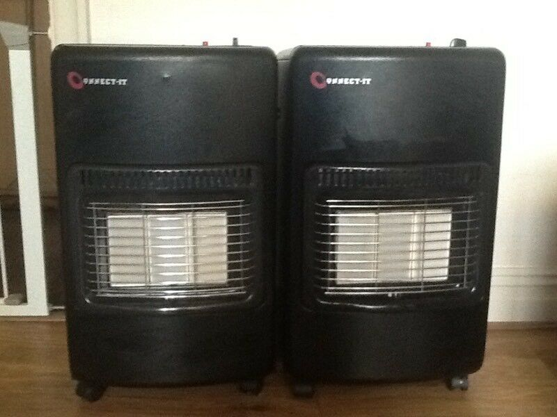 Two 4.2kw Gas Heaters butane calorgas