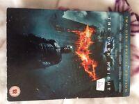 The dark knight dvd's
