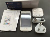 Brand new unlocked sim free iPhone 5S sealed box with full new accessories on sale