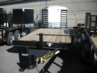 Equpment Trailer 7 T 16' from Kaufman