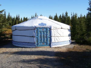 Authentic 4-season Mongolian yurt