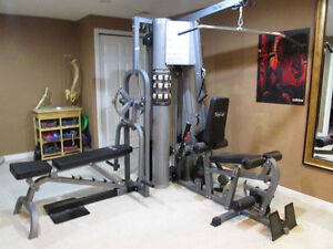 Top of the Line  Home Gym Weight System.
