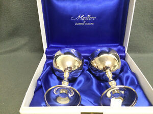 Collectible Antique Marlboro by Morton-Parker Wine Goblets