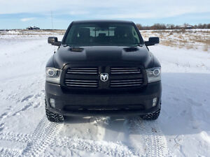 2013 Ram 1500 Sport Pickup Truck With 8 Speed Transmission