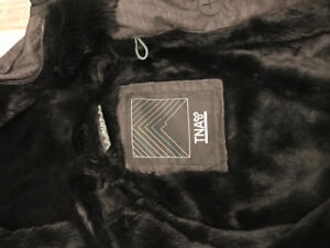 TNA small jacket - dark charcoal grey for $50 GREAT CONDITION