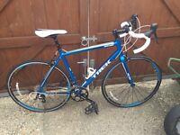 Trek one 1.2 road bike 56cm frame as new