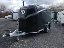 Box trailer for camping motor bike etc