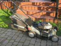 Tondeuse Craftsman (traction) puissant 6.75 hp / 21 + sac arrièr