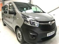 2015 VAUXHALL VIVARO 9 SEATER MINIBUS COMBI 1.6CDTI GREY NEW SHAPE LOW MILEAGE