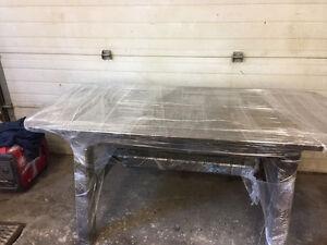 Newly Built Spruce Table