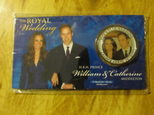 ROYAL WEDDING 2011 Toronto Star Coin Prince William Middleton