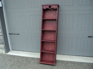 SOLID PINE ~~ SHELVING UNIT ~~ EASY TO REPAINT ~~ BOOKCASE! Windsor Region Ontario image 2