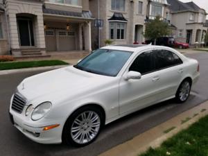 08 Mercedes E.350 4matic (white is rare)