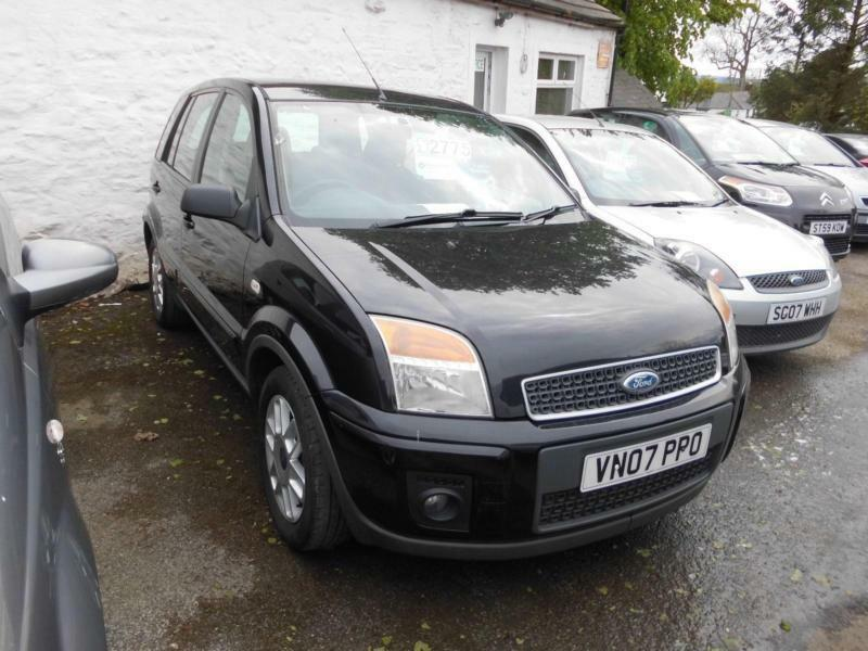 2007 ford fusion zetec 1 4 petrol manual 5 door hatchback. Black Bedroom Furniture Sets. Home Design Ideas