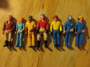 FISHER PRICE FP Adventure People Vintage Toy Action Figure Lot
