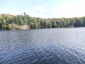 Lake front property in Bracebridge