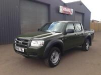 2009 Ford Ranger 2.5 TDCi Double Cab *Forestry * 5 Seats * 138k *