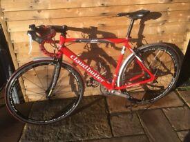 Claud Butler Roubaix road bike 53cm & fulcrum Quattros