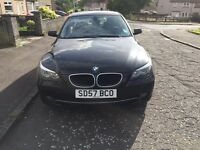 BMW 520d se Black.