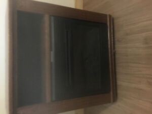 TV Cabinet with infra red heater