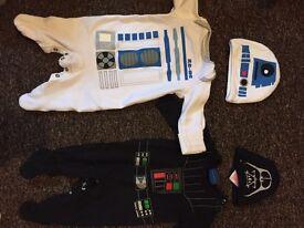 Boys upto a month & newborn suits star wars