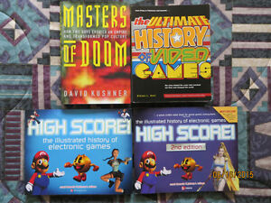 HISTORY OF VIDEO GAMES BOOKS