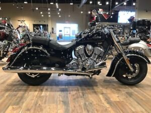 2017 Indian Motorcycle Chief Classic Thunder Black Custom