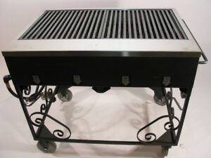 [USED] - 3ft Commercial Barbecue