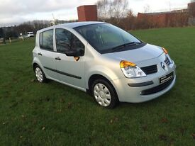 07 Renault modus oasis 16v 1 lady owner low miles FREE WARRANTY!not c3, yaris,107, alto,ds3, corsa ,