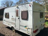 2007 Lunar Stella 2 berth caravan AWNING LIGHT TO TOW, VGC, BARGAIN !