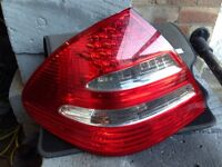 Mercedes e class rear light w211 led n/s