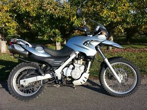 BMW F650GS 2007 dual sport bike